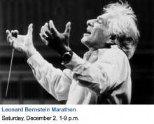 Concerts, December 02, 2017, 12/02/2017, Leonard Bernstein Marathon Concert