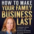 Author Readings, November 16, 2017, 11/16/2017, Mitzi Perdue discusses her book How to Make Your Family Business Last