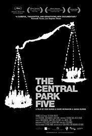 Films, December 07, 2017, 12/07/2017, Ken Burns' The Central Park Five (2012): Documentary on Notoriously Botched Rape Case
