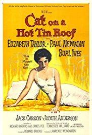 Films, December 06, 2017, 12/06/2017, Richard Brooks' Cat on a Hot Tin Roof (1958): Tennessee Williams Drama