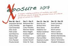 Opening Receptions, December 07, 2017, 12/07/2017, Exposure 2017: Group Exhibition