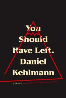 Author Readings, December 04, 2017, 12/04/2017, Daniel Kehlmann discusses his book You Should Have Left