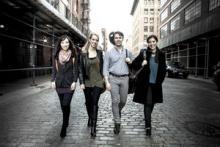 Concerts, December 09, 2017, 12/09/2017, Solera String Quartet performs works by Beethoven, Enescu