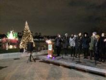 Festivals, December 09, 2017, 12/09/2017, Holiday on the Hudson Tree Lighting