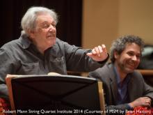 Concerts, January 03, 2018, 01/03/2018, Robert Mann String Quartet Institute