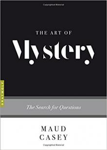 Book Readings, January 11, 2018, 01/11/2018, Maud Casey discusses her book The Art of Mystery