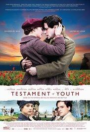 Films, January 12, 2018, 01/12/2018, James Kent's Testament of Youth (2014): WW1 Drama
