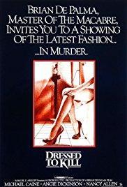 Films, February 12, 2018, 02/12/2018, Brian De Palma's Dressed to Kill (1980): Murder Mystery