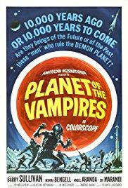 Films, February 22, 2018, 02/22/2018, Mario Bava's Planet of the Vampires (1965): Bloodsuckers from Outer Space