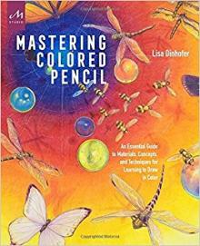 Book Signings, January 23, 2018, 01/23/2018, Lisa Dinhofer signs copies of her book Mastering Colored Pencil
