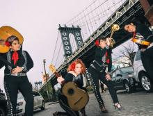Concerts, January 20, 2018, 01/20/2018, Flor de Toloache: New York City's fFrst and Only All-Female Mariachi Ensemble