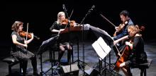 Concerts, February 13, 2018, 02/13/2018, Mivos Quartet: One of America's Most Daring New-Music Ensembles