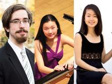Concerts, February 14, 2018, 02/14/2018, Violin and Piano Works by Beethoven, Brahms