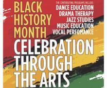 Concerts, February 10, 2018, 02/10/2018, Black History Month: Celebration Through the Arts
