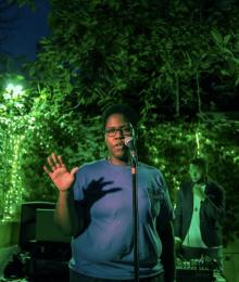 Poetry Readings, February 05, 2018, 02/05/2018, Candace Williams reads from her book Spells for Black Wizards