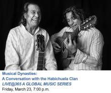 Discussions, March 23, 2018, 03/23/2018, Musical Dynasties: A Conversation with the Habichuela Clan