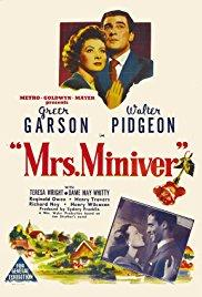 Films, March 08, 2018, 03/08/2018, William Wyler's 6-Time Oscar Winner Mrs. Miniver (1942): British Resolve During World War II