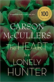 Book Discussions, March 27, 2018, 03/27/2018, Book Group: The Heart is a Lonely Hunter
