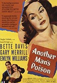 Films, February 09, 2018, 02/09/2018, Irving Rapper's Another Man's Poison (1954): Suspicious Mystery Writer