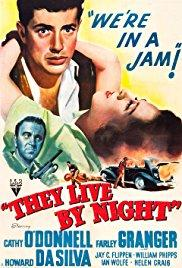 Films, February 23, 2018, 02/23/2018, Nicholas Ray's They Live By Night (1948): Ex-Con Falls in Love