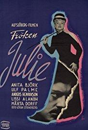 Films, February 10, 2018, 02/10/2018, Alf Sjöberg's Miss Julie (1951): Swedish Romance