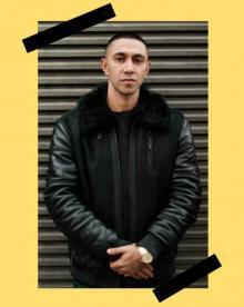 Author Readings, February 23, 2018, 02/23/2018, Italian rapper Amir Issaa discusses his book Vivo per questo