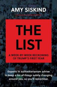 Book Readings, March 28, 2018, 03/28/2018, Amy Siskind discusses her book The List: A Week-by-Week Reckoning of Trump's First Year