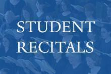 Concerts, March 22, 2018, 03/22/2018, Student Voice Recital