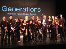 Concerts, March 01, 2018, 03/01/2018, Generations: Double Reed Faculty/Student Concert