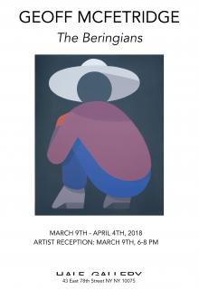 Opening Receptions, March 09, 2018, 03/09/2018, The Beringians: Paintings by Geoff McFetridge