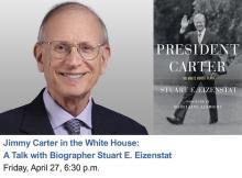 Author Readings, April 27, 2018, 04/27/2018, Stuart E. Eizenstat discusses his book President Carter: The White House Years