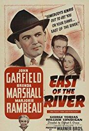 Films, April 16, 2018, 04/16/2018, Alfred E. Green's East of the River (1940): Old Friends Love Same Girl