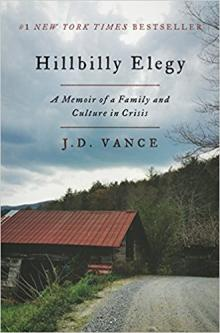 Book Discussions, April 11, 2018, 04/11/2018, Book Group: Hillbilly Elegy