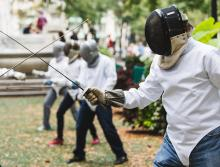 Workshops, October 12, 2018, 10/12/2018, Fencing Workshop