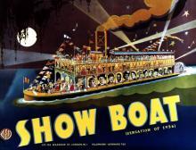 Films, June 14, 2018, 06/14/2018, Show Boat (1936):  musical romantic drama