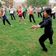 Workshops, June 14, 2018, 06/14/2018, Tai Chi on the Lawn