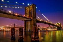 Tours, August 15, 2019, 08/15/2019, Sunset Brooklyn Bridge Tour