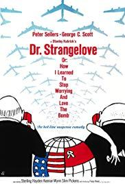 Movie in a Parks, February 21, 2019, 02/21/2019, Stanley Kubrick's Dr. Strangelove or: How I Learned to Stop Worrying and Love the Bomb (1964): Scathing Black Comedy with Peter Sellers, George C. Scott