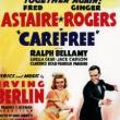 Films, August 09, 2018, 08/09/2018, Carefree (1938): Astaire-Rogers film