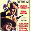 Films, August 25, 2018, 08/25/2018, The Man Who Shot Liberty Valance (1962): mythology of the Old West