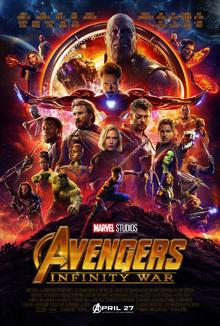 Films, April 23, 2019, 04/23/2019, Avengers: Infinity War (2018): Superhero Movie Based On The Marvel Comics