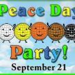 Festivals, September 21, 2018, 09/21/2018, International Day of Peace Party