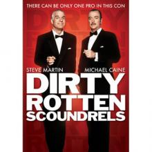 Films, January 17, 2019, 01/17/2019, Dirty Rotten Scoundrels (1988) with Michael Cain, Steve Martin: settling the rivalry by betting