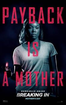 Films, January 26, 2019, 01/26/2019, Breaking In (2018): a thriller with Gabrielle Union