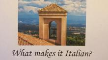 Discussions, October 09, 2018, 10/09/2018, What Makes It Italian? Discovering National Character in Music