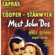 Films, November 13, 2018, 11/13/2018, Meet John Doe (1941): Comedy drama by Frank Capra