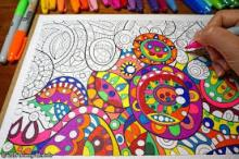 Workshops, November 30, 2018, 11/30/2018, Adult Coloring