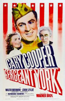 Films, November 30, 2018, 11/30/2018, Sergeant York (1941): A biographical drama with two Oscars