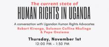 Discussions, November 01, 2018, 11/01/2018, The Current State of Human Rights in Uganda