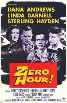 Films, November 01, 2018, 11/01/2018, Zero Hour! (1957): Drama in the skies